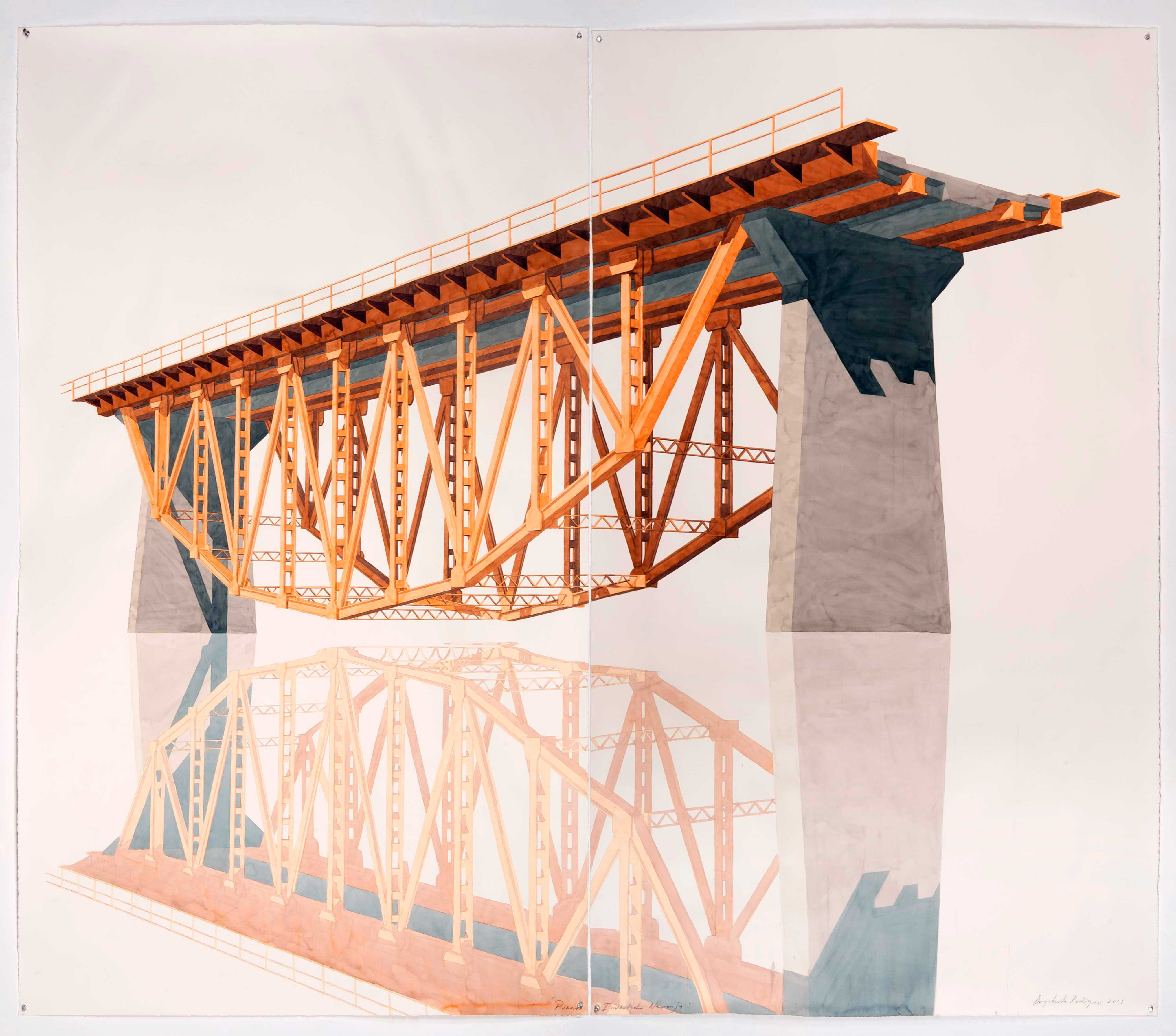 Puente Invertido Naranja