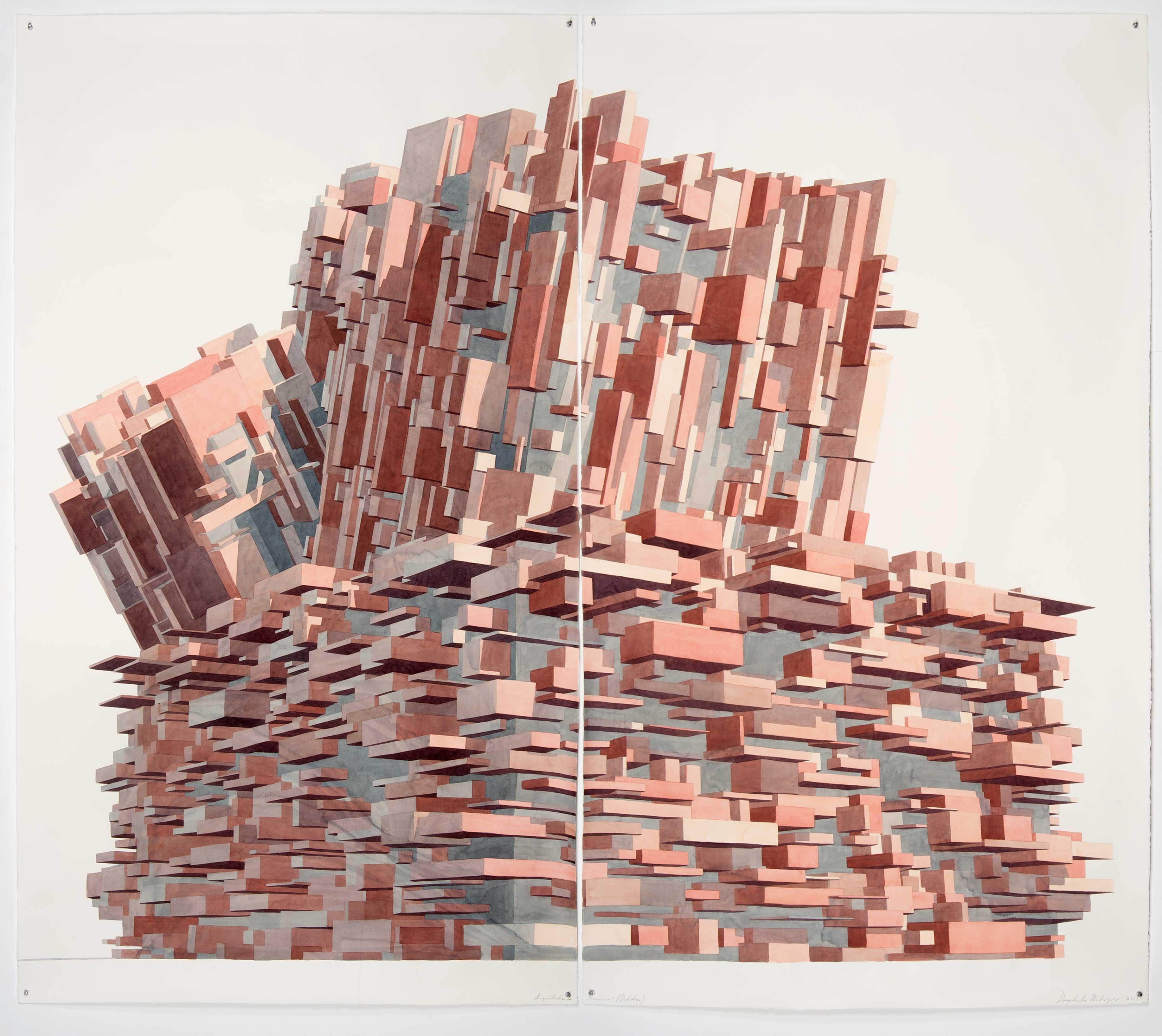 Arquitectura Diagonal Díptico