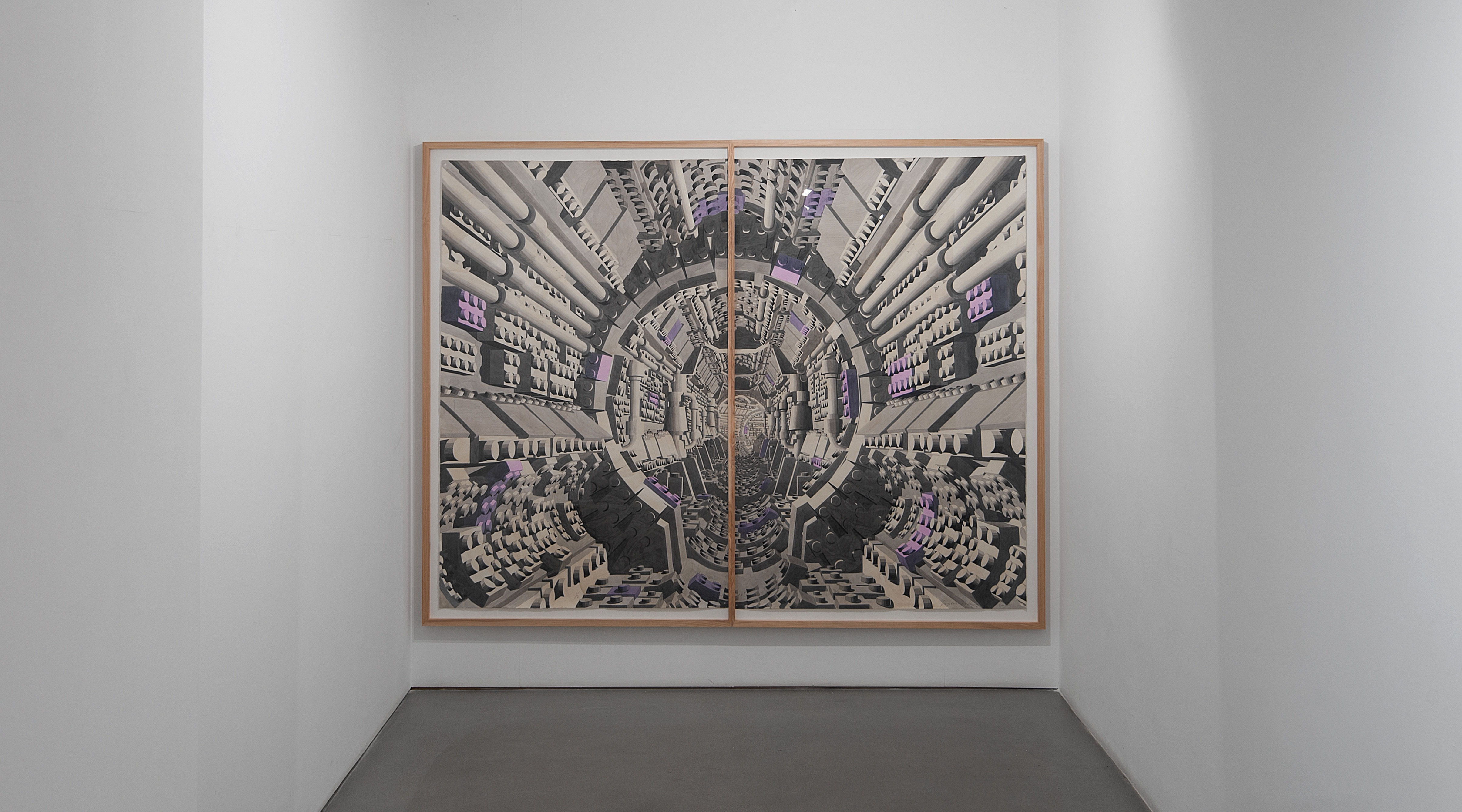 <p>Visión de túnel<br /> Sabrina Amrani Gallery</p>